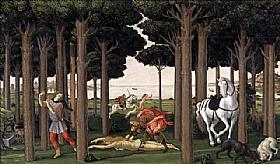Sandro Botticelli, Assassinat de la Dame - GRANDS PEINTRES / Botticelli