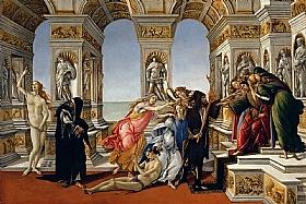 Sandro Botticelli, La calomnie d'Apelle - GRANDS PEINTRES / Botticelli