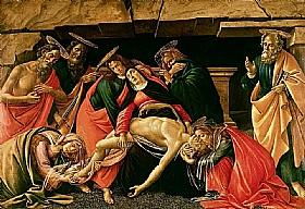 Sandro Botticelli, Lamentation sur le Christ mort - GRANDS PEINTRES / Botticelli
