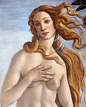 Sandro Botticelli, Vénus - GRANDS PEINTRES / Botticelli