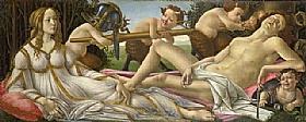 Sandro Botticelli, Vénus et Mars - GRANDS PEINTRES / Botticelli