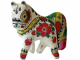 sculpture en argile, zodiaque chinois le cheval - SCULPTURES / Céramiques