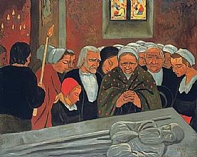 Paul Sérusier, Pardon de Saint Herbot - GRANDS PEINTRES / Sérusier