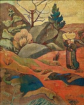 Paul Sérusier, Rochers à Huelgoat - GRANDS PEINTRES / Sérusier