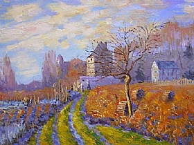 Alfred Sisley, Gelée Blanche - GRANDS PEINTRES / Sisley
