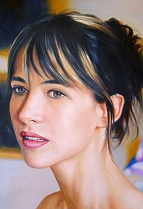 Portraits, Sophie Marceau - PEINTURES / Tableaux Cinéma