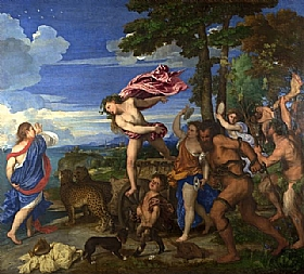 Tiziano Vecellio dit Titien, Bacchus et Ariane - GRANDS PEINTRES / Titien