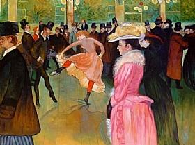Henri de Toulouse-Lautrec, Danse au Moulin Rouge - GRANDS PEINTRES / Toulouse-Lautrec