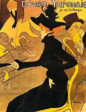 Henri de Toulouse-Lautrec, Divan japonais - GRANDS PEINTRES / Toulouse-Lautrec