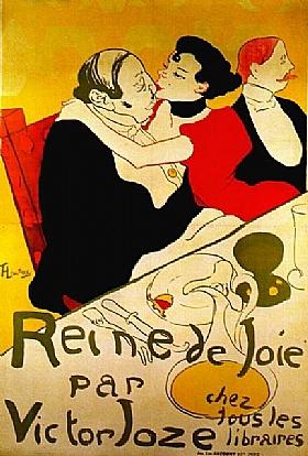 Henri de Toulouse-Lautrec, La reine de joie - GRANDS PEINTRES / Toulouse-Lautrec
