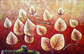 Expériences de vie, Les feuilles de l'automne - GRANDS FORMATS / Triptyques