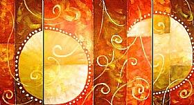 Matins agréables, Reflets du Soleil - GRANDS FORMATS / Triptyques
