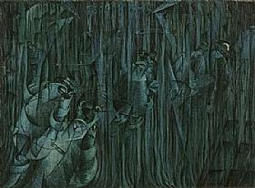Umberto Boccioni, Ceux qui restent - GRANDS PEINTRES / Boccioni