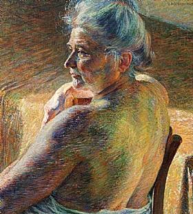 Umberto Boccioni, Epaules dénudées - GRANDS PEINTRES / Boccioni