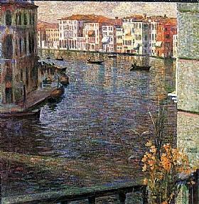 Umberto Boccioni, Le grand canal à Venise - GRANDS PEINTRES / Boccioni