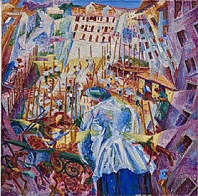 Umberto Boccioni, La rue entre dans la maison - GRANDS PEINTRES / Boccioni