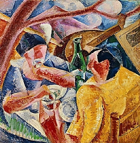 Umberto Boccioni, Sous la pergola à Naples - GRANDS PEINTRES / Boccioni