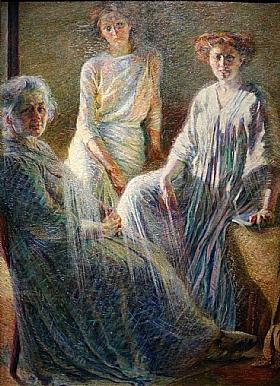 Umberto Boccioni, Trois femmes - GRANDS PEINTRES / Boccioni