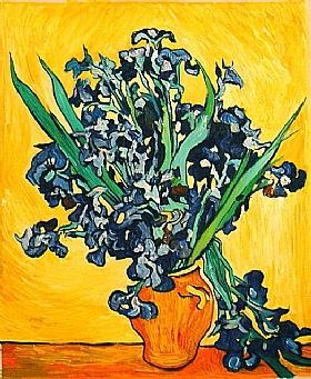 Vincent Van Gogh, Le bouquet d'iris - GRANDS PEINTRES / Van Gogh