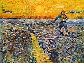 Vincent Van Gogh, Le semeur au soleil couchant - GRANDS PEINTRES / Van Gogh