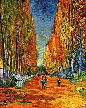 Vincent Van Gogh, Les Alychamps (Champs Elysées) - GRANDS PEINTRES / Van Gogh