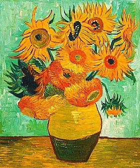 Vincent Van Gogh, Les Tournesols - GRANDS PEINTRES / Van Gogh