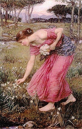 John William Waterhouse, Narcissus - GRANDS PEINTRES / Waterhouse