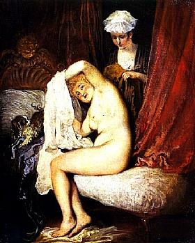 Jean Antoine Watteau, La toilette - GRANDS PEINTRES / Watteau
