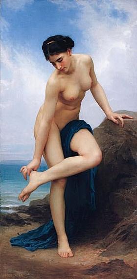 William-Adolphe Bouguereau, Après le bain - GRANDS PEINTRES / Bouguereau