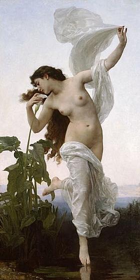 William-Adolphe Bouguereau, Aurore - GRANDS PEINTRES / Bouguereau