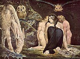 William Blake, Hecate - GRANDS PEINTRES / Blake
