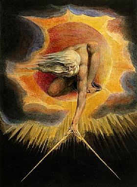 William Blake, L'ancien des jours - GRANDS PEINTRES / Blake