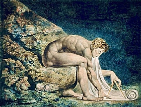 William Blake, Newton - GRANDS PEINTRES / Blake