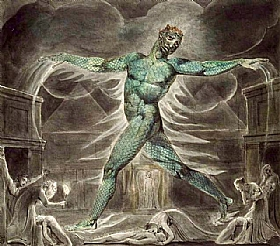 William Blake, Pestilence - GRANDS PEINTRES / Blake