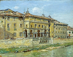 William Merritt Chase, Florence - GRANDS PEINTRES / Chase