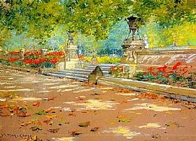 William Merritt Chase, Prospect Park Brooklyn New York - GRANDS PEINTRES / Chase