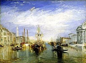 William Turner, Le grand canal à Venise - GRANDS PEINTRES / Turner