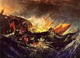 William Turner, Le naufrage - GRANDS PEINTRES / Turner