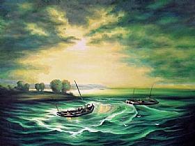 William Turner, Pêcheurs en mer - GRANDS PEINTRES / Turner
