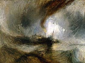 William Turner, Tempête en mer - GRANDS PEINTRES / Turner