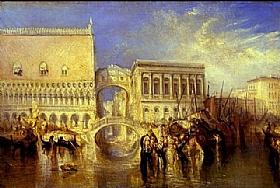 William Turner, Venise - Le pont des soupirs - GRANDS PEINTRES / Turner