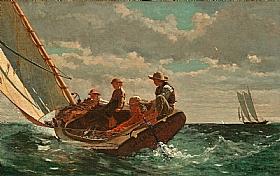 Winslow Homer, Bon vent - GRANDS PEINTRES / Homer