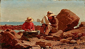 Winslow Homer, Constructeurs de bateaux - GRANDS PEINTRES / Homer