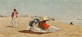 Winslow Homer, East Hampton beach - GRANDS PEINTRES / Homer