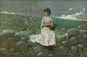 Winslow Homer, Fleurs de pêchers - GRANDS PEINTRES / Homer