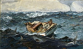 Winslow Homer, Gulf Stream - GRANDS PEINTRES / Homer