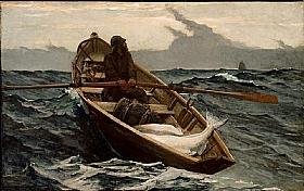 Winslow Homer, Menace de tempête - GRANDS PEINTRES / Homer