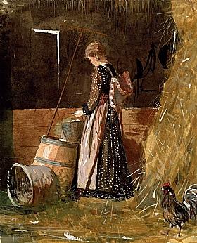 Winslow Homer, Les oeufs frais - GRANDS PEINTRES / Homer