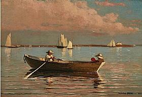 Winslow Homer, Au port de Gloucester - GRANDS PEINTRES / Homer