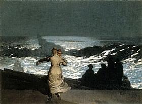 Winslow Homer, Nuit d'été en bord de mer - GRANDS PEINTRES / Homer